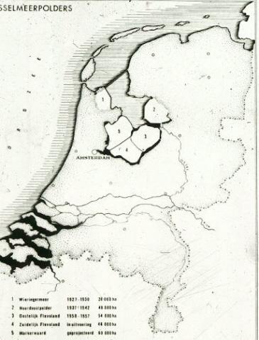 Landaanwinning in Nederland.