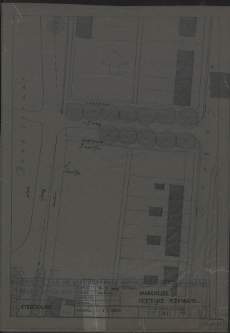 Noordoostpolder: Marknesse Oostelijke pleinwand