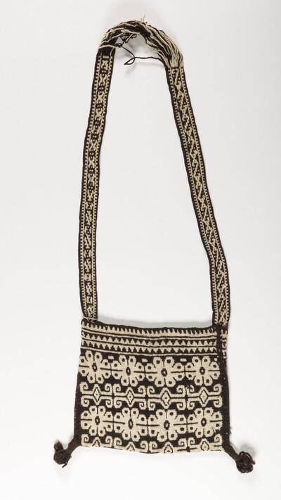 Geweven tas met draagband