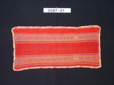 Kleine, veelkleurige schouderdoek voor vrouwen