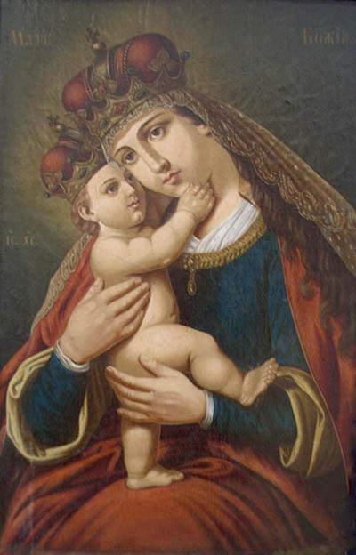 Богородица с младенеца