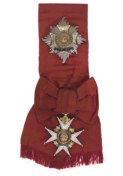 Badge and Star: Order of the Bath, 1st class (military)