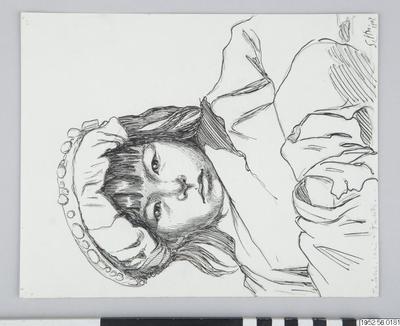 teckning, drawing