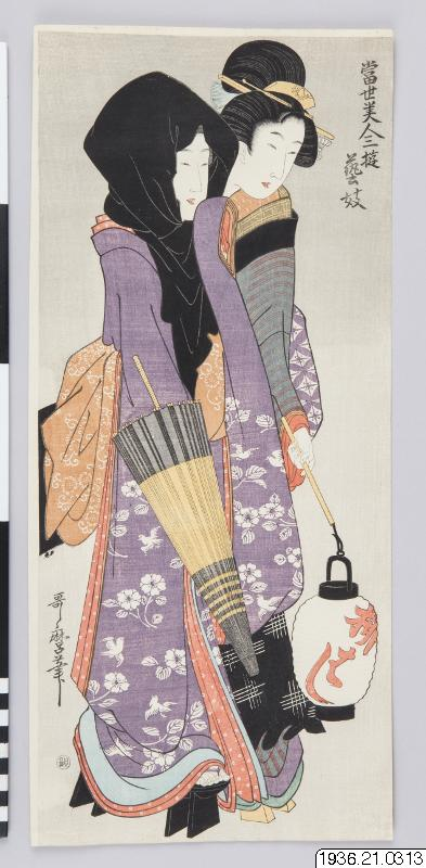 träsnitt, woodblock print, ukiyo-e