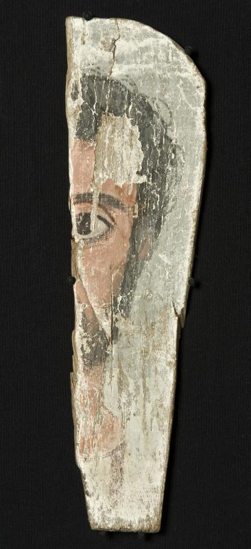 Portrait@eng, Mummy mask@eng, Målning, Mumiemask, Porträtt