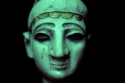 huvud, ansikte, skulptur, Photograph