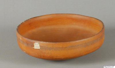 Skål av lergods utan fötter., kärl, skål, vessel@eng, Vasija
