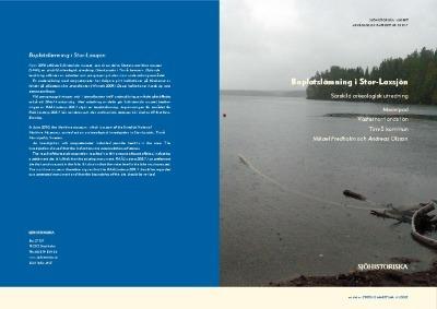 Boplatslämning i Stor-Laxsjön, särskild arkeologisk utredning, Medelpad, Timrå kommun, Västernorrlands län