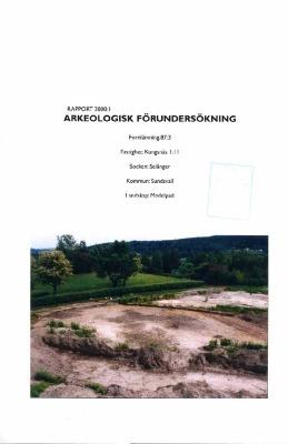 Arkeologisk förundersökning Kungsnäs 1:11