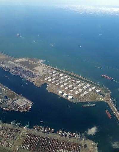 Rotterdam Europort aerial photograph