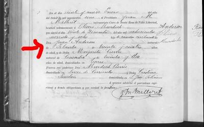My Ancestor's Birth Certificate