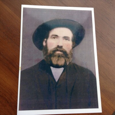 My great great grandfather, the ship's captain