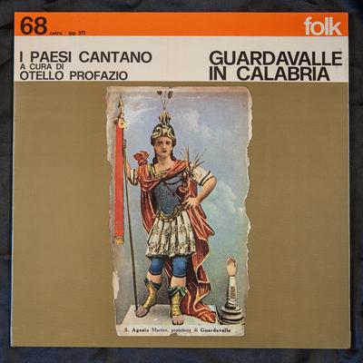 Il disco del dialetto di Guardavalla