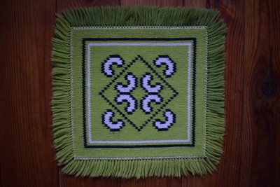 My grandmother's cloth motif