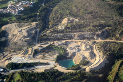 Quarry, Bucelas, Portugal