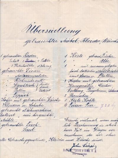 Iz Graca u Beograd 1920. godine