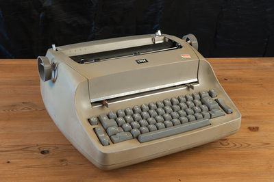 My father's typewriter