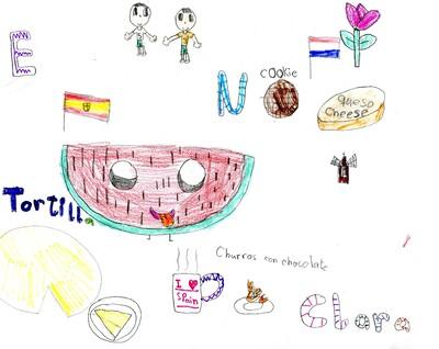 Una niña albaceteña en Holanda
