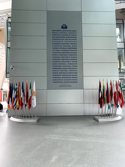 Working at the European Central Bank