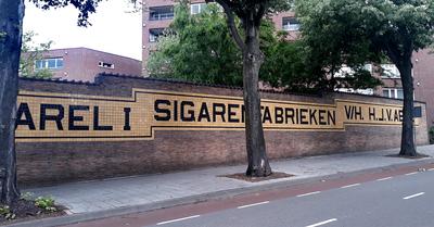 Karel I cigar factory tiles, Eindhoven