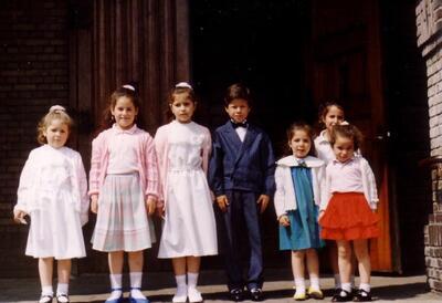 Kinderen uit Garganta la Olla in Eindhoven