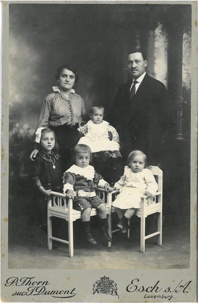 Une famille d'entrepreneurs italiens en bâtiment au Luxembourg