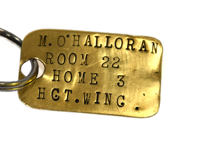 Brass engraved Identification tag
