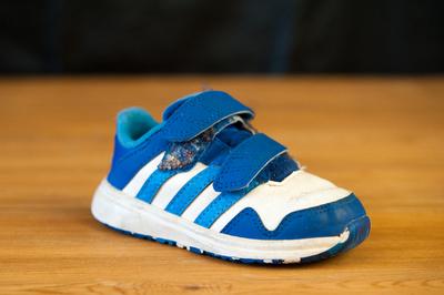 La chaussure de mon fils