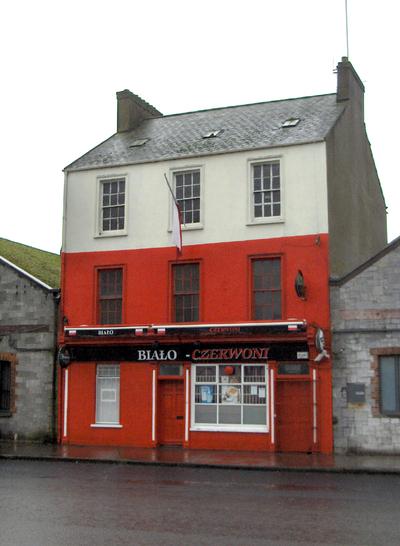 A Polish pub in Ireland