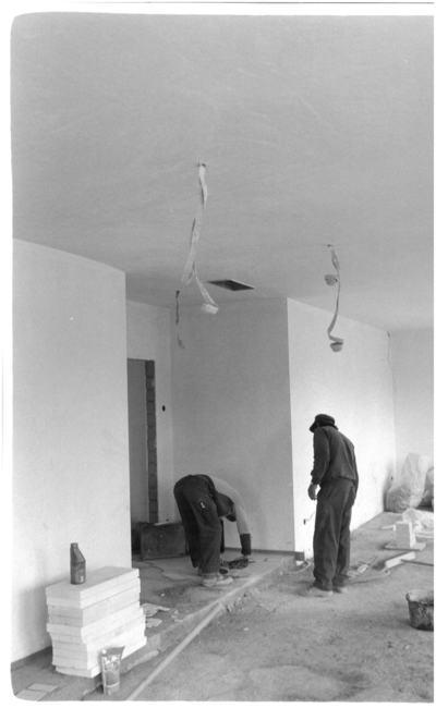 Travailleurs en bâtiment