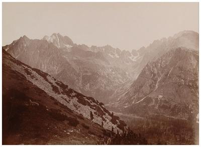 Mengusfalvi völgy a Bástja felől a Kárpátokban