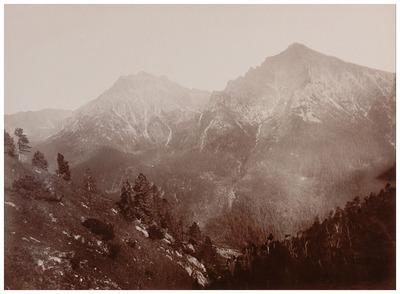 Hruba nevű hegy oldala Kriván alatt a Kárpátokban