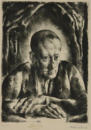 Tarjáni S. Jenő arcképe