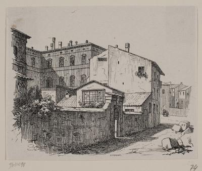 Thorvaldsens atelier i Rom