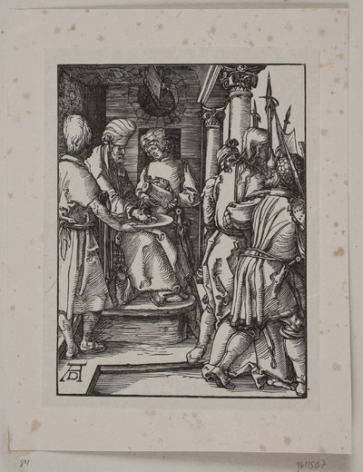 Pilatus vasker sine hænder