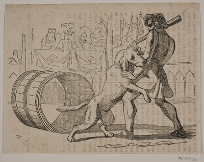 Macaires kamp med hunden