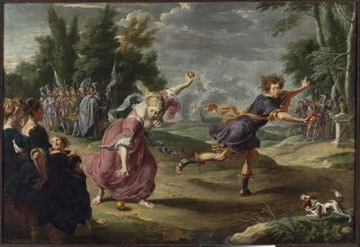 Atalanta i Hippomenes (Owidiusz, Metamorfozy, X, 560-707)