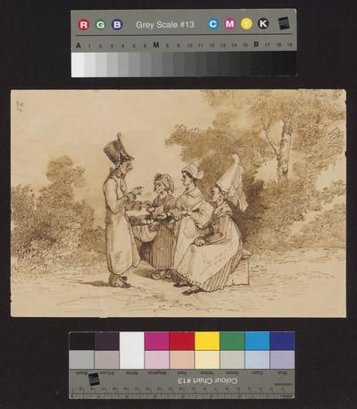 Żołnierz i trzy kobiety - Sąd Parysa