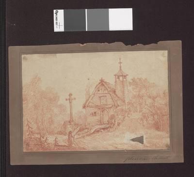 Kościółek drewniany wiejski