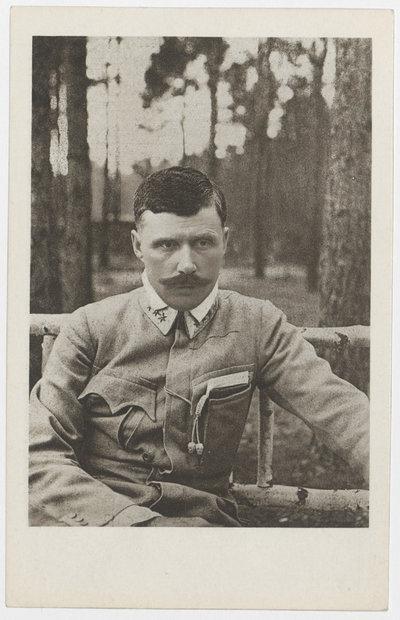Komendant Czwartaków Bolesław Jerzy Roja.
