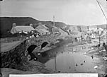 bridge and mill, Aberdaron (1896)]