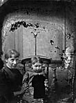 woman and a child]