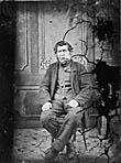 man sitting]