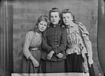 [Dr Jones' three maids, Llanboidy]