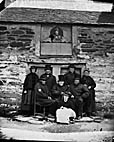 [Residents of the almshouses, Cerrigydrudion]