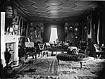 drawing room, Castell Deudraeth, Penrhyndeudraeth]