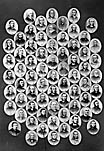 [Multi-portrait of seventy ministers]