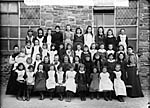 [Girls of the national school, Llanymddyfri]