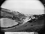 view of Aberdyfi from Tŷ Newydd]