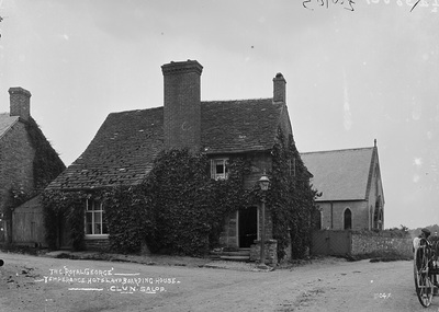 Royal George' Temperance hotel and boarding house Clun Salop